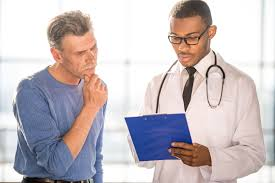 image Dr with patient