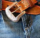 man jeansbelt